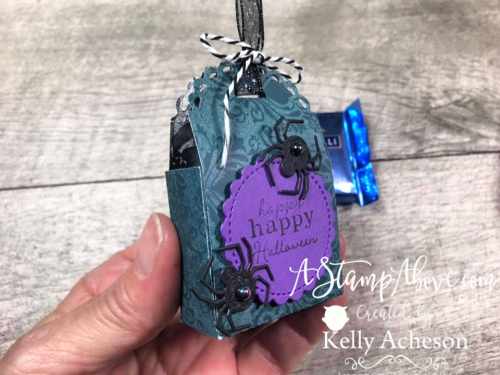 Learn how to make little treat boxes in a jiffy! VIDEO TUTORIAL - Click for details - ️SHOP ️ - ORDER STAMPIN' UP! PRODUCTS ON-LINE. Purchase the $99 Starter Kit & enjoy a 20% discount! Tons of paper crafting ideas & FREE Online Classes. www.AStampAbove.com