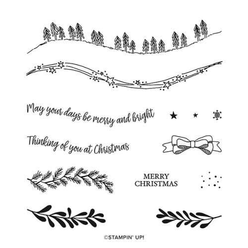 Christmas Celebrations - www.AStampAbove.com