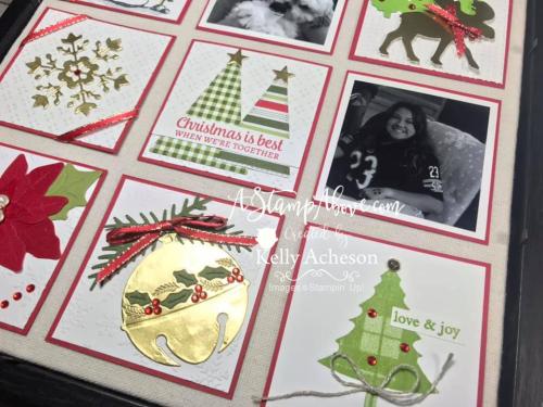 Christmas Sampler Video  www.AStampAbove.com