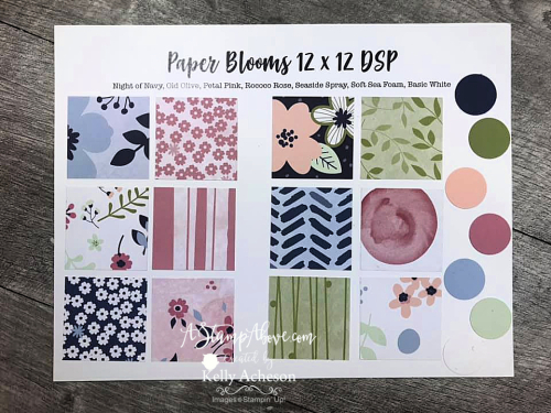 Get the PAPER BLOOMS DESIGNER SERIES PAPER FREE before 2/28! Click for details & video tutorial. www.AStampAbove.com