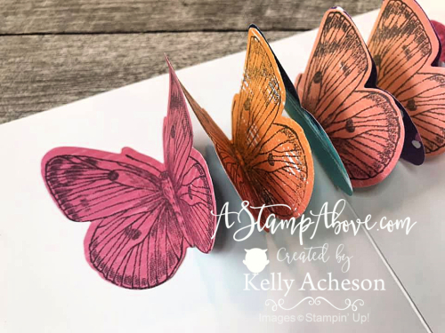 Learn how easy it is to make a fabulous pop up inside your cards! www.AStampAbove.com
