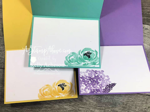 VIDEO TUTORIAL: Learn all about the BEST PLAID BUILDER DIES to make striking cards with ease! By Stampin' Up! www.AStampAbove.com