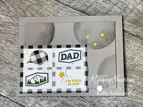 Learn how to make this fun card with the HATS OFF BUNDLE & WATERCOLOR SHAPES by Stampin' Up! www.AStampAbove.com