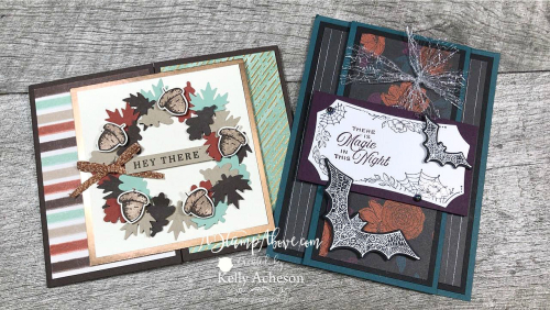 GILDED AUTUMN & MAGIC IN THIS NIGHT new from Stampin' Up! - VIDEO TUTORIAL - Click for details - ️SHOP ️ - ORDER STAMPIN' UP! PRODUCTS ON-LINE. Purchase the $99 Starter Kit & enjoy a 20% discount! Tons of paper crafting ideas & FREE Online Classes. www.AStampAbove.com