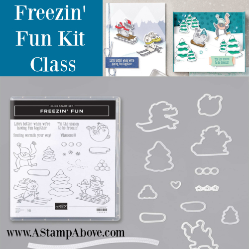 Learn how to make a fun SLIMLINE card with Freezin' Fun by Stampin' Up! VIDEO TUTORIAL - Click for details - ️SHOP ️ - ORDER STAMPIN' UP! PRODUCTS ON-LINE. Purchase the $99 Starter Kit & enjoy a 20% discount! Tons of paper crafting ideas & FREE Online Classes. www.AStampAbove.com