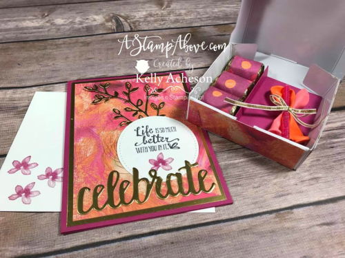 VIDEO TUTORIAL - Click for details - STAMPIN' UP! www.AStampAbove.com Kelly Acheson