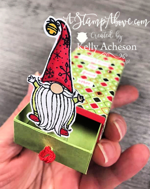 MAKE THIS ADORABLE POP UP BOX - VIDEO TUTORIAL - Click for details - STAMPIN' UP! www.AStampAbove.com Kelly Acheson