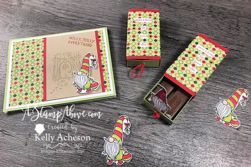 MAKE THIS ADORABLE CARD & POP UP BOX - VIDEO TUTORIAL - Click for details - STAMPIN' UP! www.AStampAbove.com Kelly Acheson