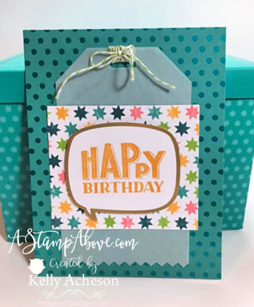 Check out this AMAZING card kit called YOU ARE AMAZING by Stampin' Up! - Video Tutorial - www.AStampAbove.com