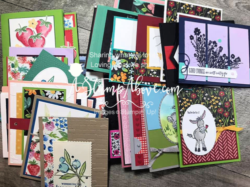 You'll love all the swap cards I share in my latest Facebook Live video - click to watch! www.AStampAbove.com
