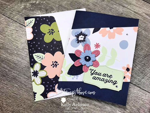 Paper Blooms DSP free until 2/28! Click for a video tutorial. www.AStampAbove.com