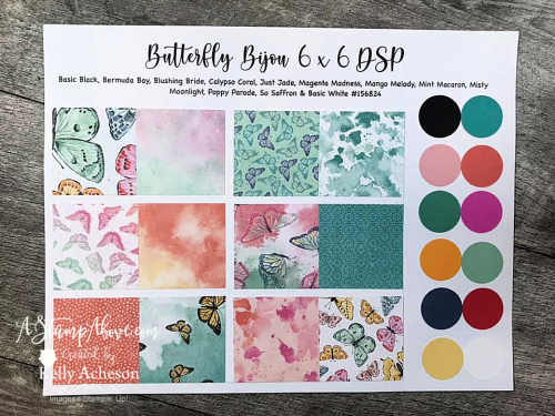 NEW Butterfly Brilliance from Stampin' Up! - click for details. www.AStampAbove.com