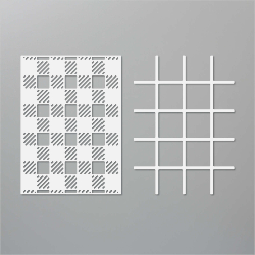Click to see a video tutorial showing you how to make striking cards with the BEST PLAID BUILDER DIES by Stampin' Up! www.AStampAbove.com