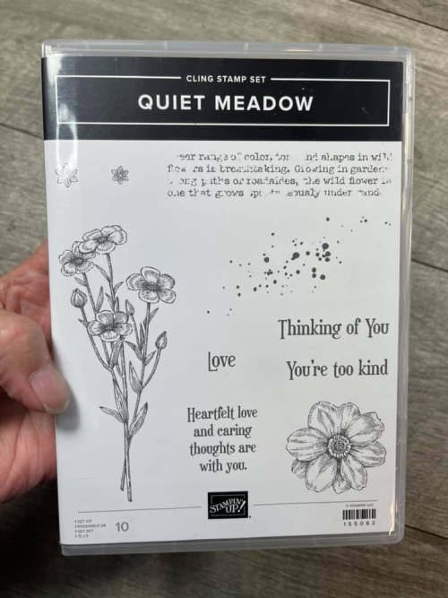Get a fun KIT to go with this new bundle by Stampin' Up! - Quiet Meadow. Click for details. www.AStampAbove.com