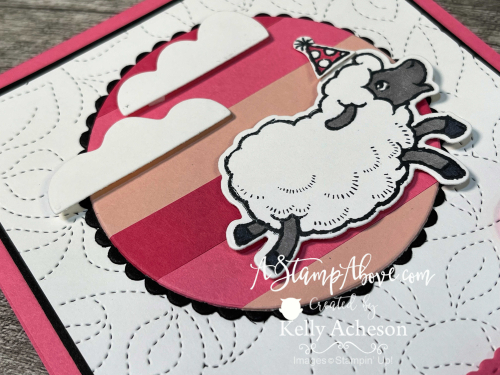 Counting Sheep- FREE with a $50 order staring 8/3/21! Stampin' Up! www.AStampAbove.com