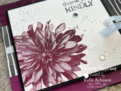 Click for Video - Delicate Dahlias is FREE from Stampin' Up! www.AStampAbove.com
