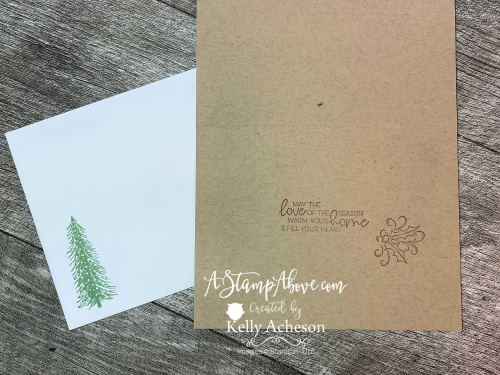 Check out my video tutorial and find out how to get a KIT CLASS in the mail with the Whimsical Trees bundle by Stampin' Up! www.AStampAbove.com