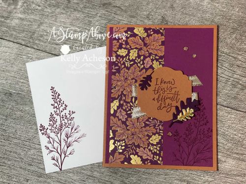Beauty of Tomorrow Suite by Stampin' Up! Video tutorial available. www.AStampAbove.com