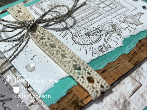 FEELS LIKE HOME - free with a $50 order! Video tutorial - Torn Edges - www.AStampAbove.com