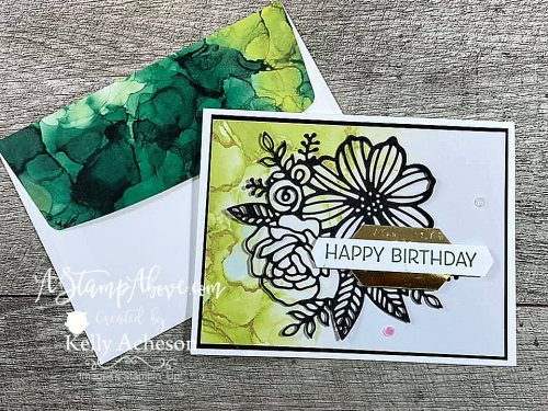 MAKE EASY CARDS! Click for a video tutorial using the Artistically Inked Bundle - NEW from Stampin' Up! www.AStampAbove.com