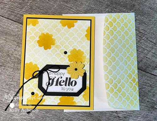 Layering stencils technique - click for video tutorial. www.AStampAbove.com