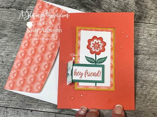 VIDEO TUTORIAL: Get all the details for a KIT mailed right to you using the IN SYMMETRY suite by Stampin' Up! www.AStampAbove.com