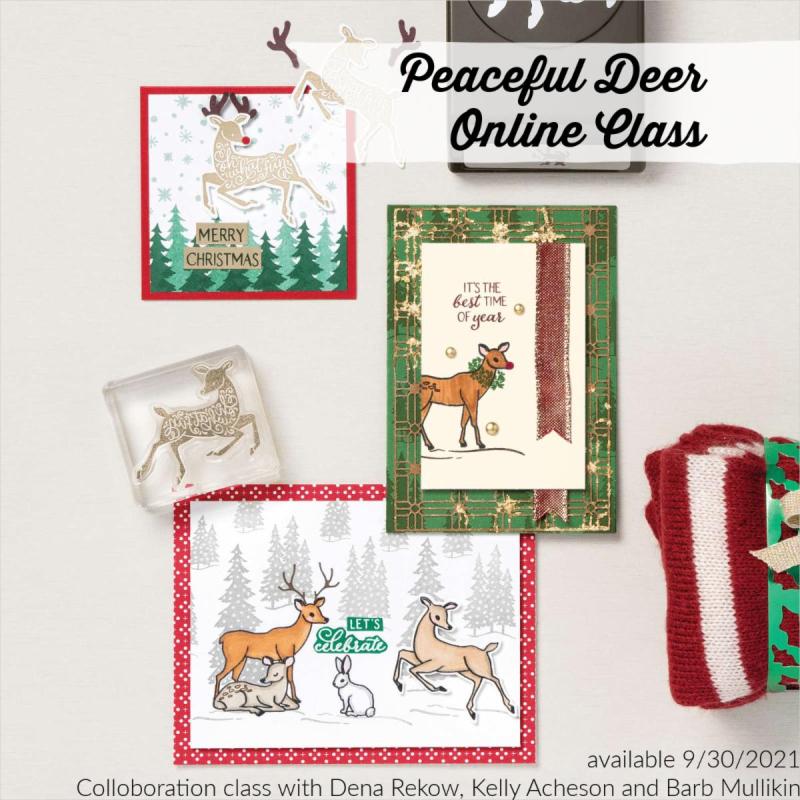 Peaceful Deer Cover